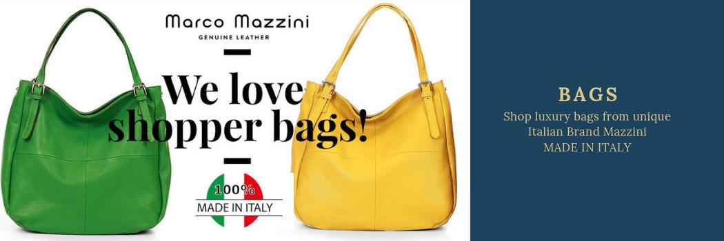 Shop Marco Mazzini Italian Leather Bags at Kim Boutique