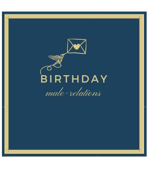 Birthday - Male Relations